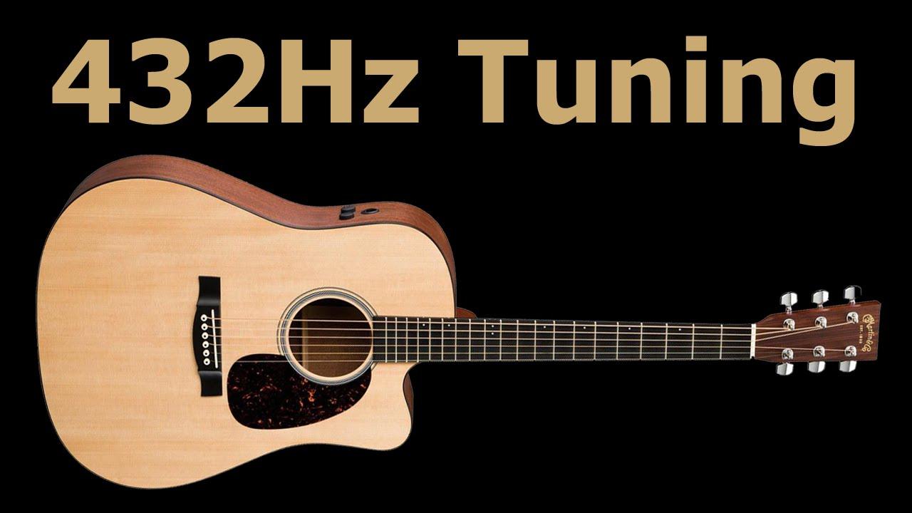 432hz guitar tuning youtube. Black Bedroom Furniture Sets. Home Design Ideas