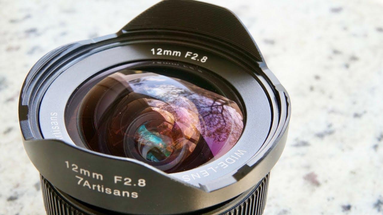 7artisans 12mm f2.8 Ultra Wide Angle Lens APS-C Mirrorless Cameras Lens UR