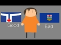 Canadian Flags Ranked - YouTube