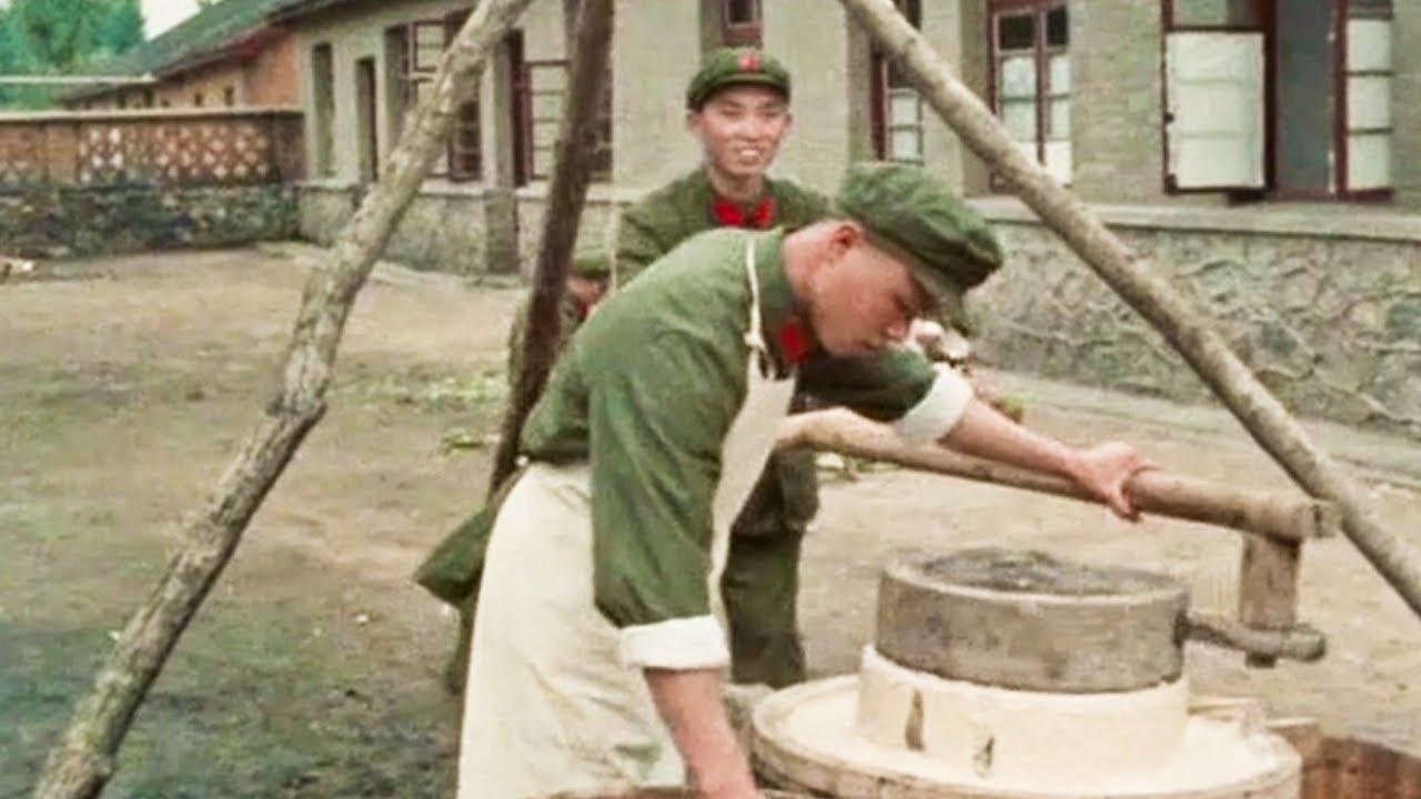 外国拍的中国纪录片2,真实展现了70年代的解放军生活