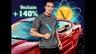 #VET +140 % Vechain is on FIRE BULL RUN TIME ( $VET is the strongest player in the field! #Vechain
