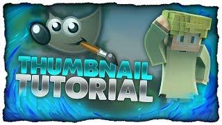 Professionelles Minecraft Thumbnail mit Gimp erstellen | Thumbnails kostenlos | Part 2 [Tutorial]