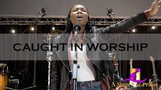 Joke Adedokun - Invisible God (Spontaneous Worship) | Caught In Worship