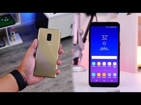 Samsung Galaxy A8 Plus with Infinity Display Hands-On Look!!!