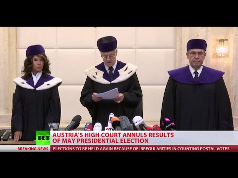Re-run: Austria court annuls presidential election results