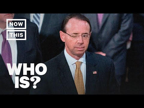 Who Is Rod Rosenstein? Narrated by America Ferrera | NowThis