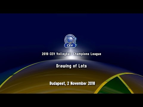 2019 CEV Volleyball Champions League | 4th round Drawing of Lots