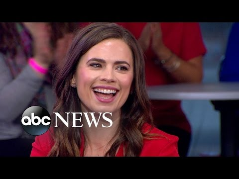 Hayley Atwell Talks Upcoming Show 'Conviction'