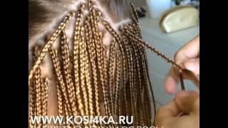 Как плетутся афрокосички