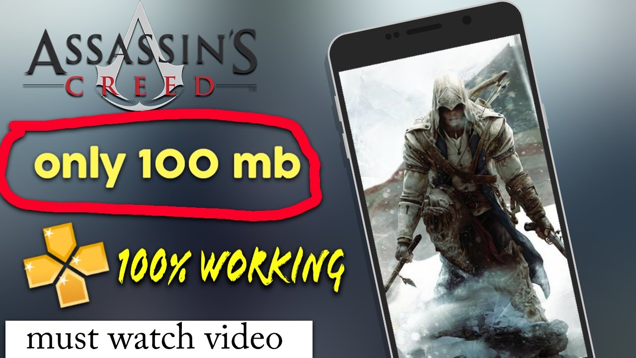 How to download assassin's creed on android only 100 mb [ highly compressed  ]