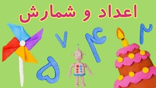 🤖Persian/Farsi Numbers | اعداد فارسی| شمارش فارسی | اعداد خمیری