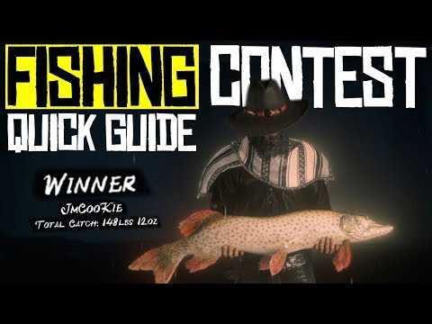 Fishing Contest - Tips/Quick Guide - Red Dead Online RDR2 - Red Dead Redemption 2