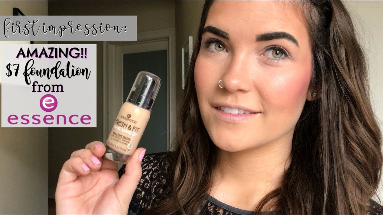 New Essence Fresh Fit Awake Makeup First Impression Review