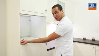 Hoe meet ik de nismaten voor een inbouw oven, magnetron of koffieautomaat? - Keukenloods.nl
