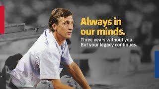 Johan Cruyff, your legacy continues
