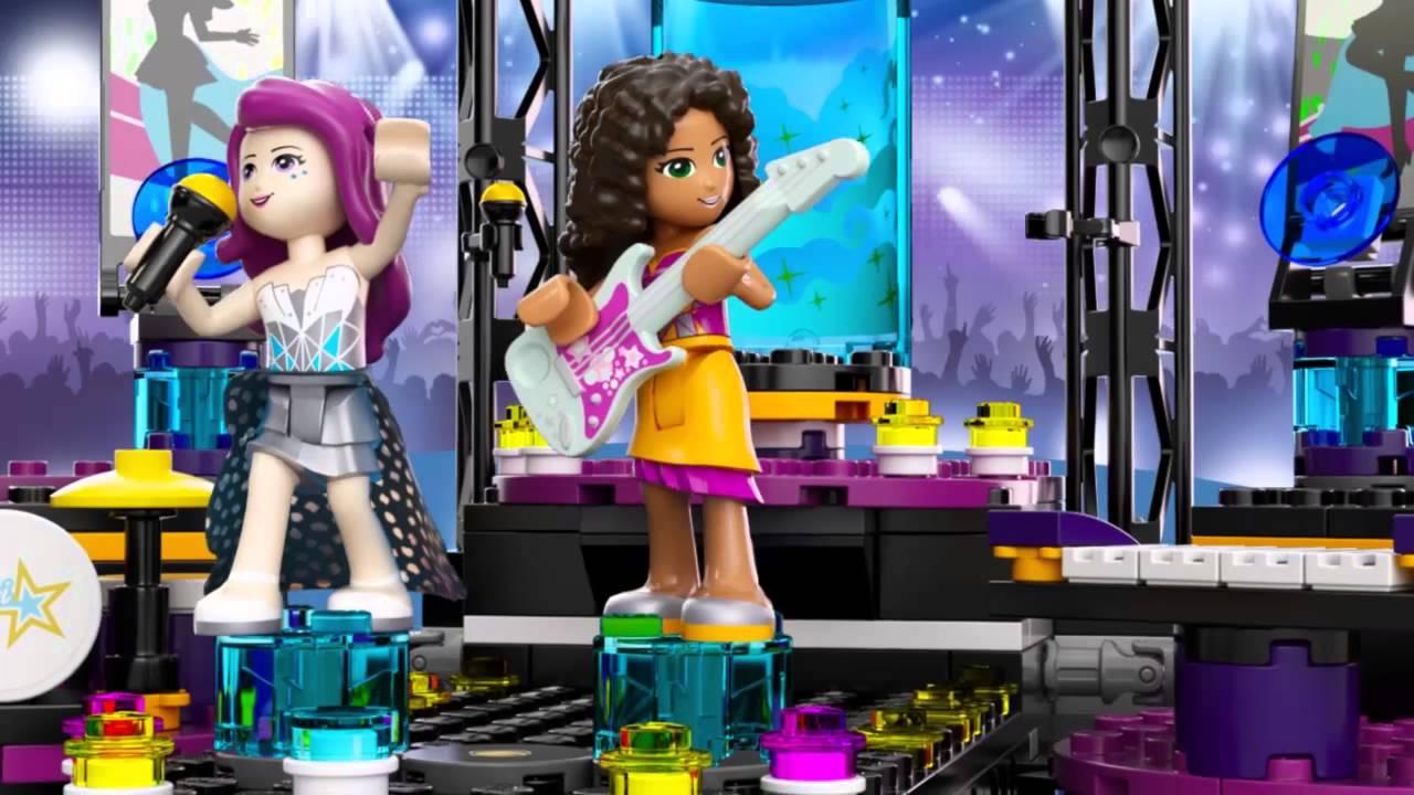Lego Friends 41105 Scena Gwiazdy Pop Youtube
