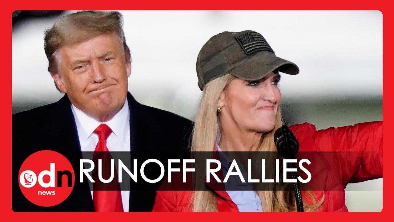 Trump and Biden Face Off in Rallies Ahead of Georgia Senate Runoff