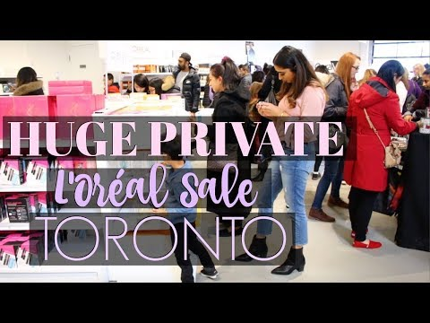 Huge Private L'Oréal Sale Markham Toronto    Daily Vlog
