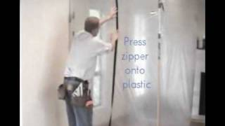 Ready Guard Dust Barrier System in Action Thumbnail