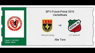 Eintracht Südring -  CFC Hertha 06 (alle Tore)