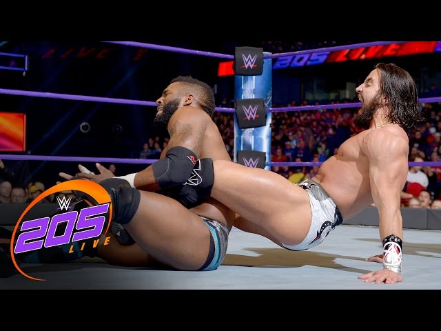 Cedric Alexander vs. Tony Nese: WWE 205 Live, Dec. 27, 2016