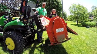 Riding Mower John Deere 1025r Pto Rio Bypass How To