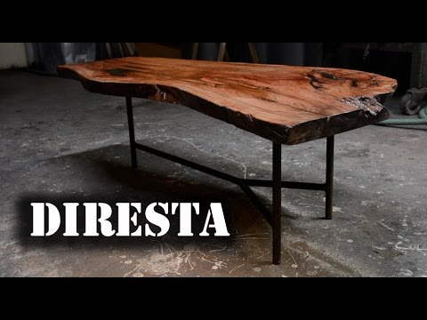 Awesome ✓ DiResta Simple Slab Table   YouTube