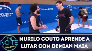Baixar Murilo Couto aprende a lutar com Demian Maia | The Noite (17/04/19)