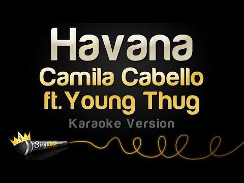 Camila Cabello - Havana Ft. Young Thug (Karaoke Version) Ⓜ️