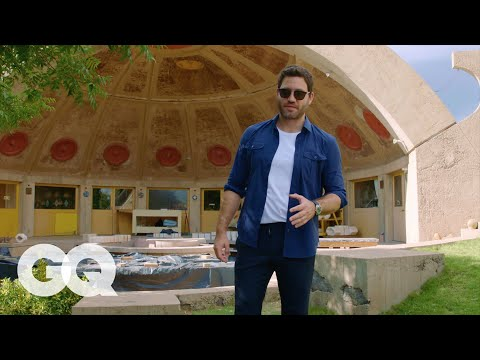 Join Edgar Ramirez for a Tour of Arcosanti, An Architectural Wonder In the Arizona Desert  GQ
