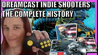 Complete history of Dreaṁcast indie scrolling shooters