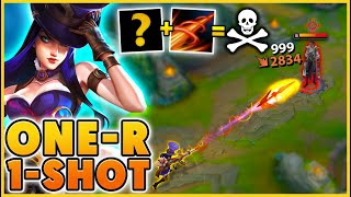 THIS MAKES CAITLYN ONE-SHOT ANYONE (NERFED) - BunnyFuFuu | League of Legends