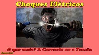 De ms elétrico sensação choque