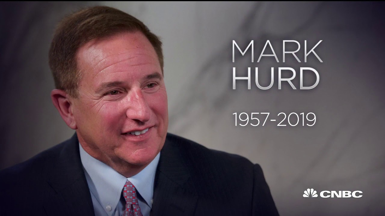 Oracle's Mark Hurd, who was on medical leave, has died at 62