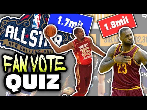 NBA ALL-STAR VOTING LEADERS QUIZ!