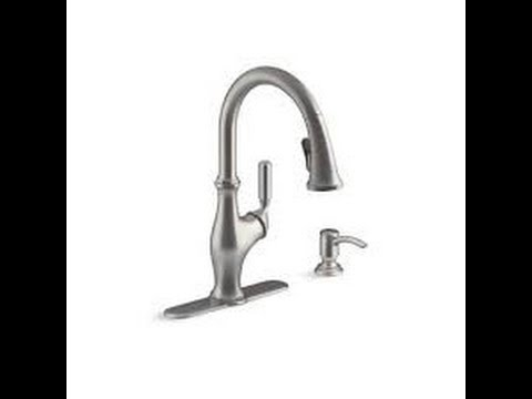 Loose Kitchen Faucet FIX!!! Kohler worth Kholer kitchen faucet ...