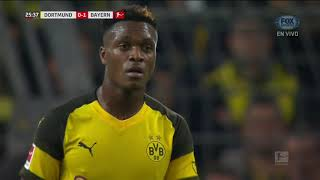 GOL: Borussia Dortmund 0-1 Bayern Munich