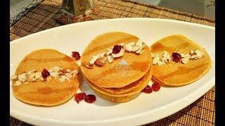 Healthy Perfect Pancakes | Homemade with Whole Wheat Flour | Breakfast Recipe | Easy and Quick