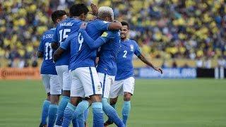 Equador 0 x 3 Brasil, Melhores Momentos, Eliminatórias 2016