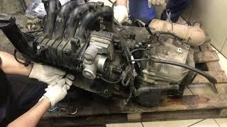 Двигатель Mercedes Benz для Vaneo W414 2001-2006
