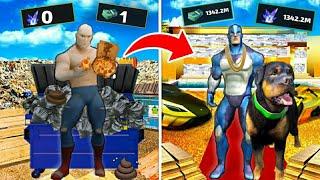 Poor Vs Ultra Rich in Rope Hero Vice Town   Zaib screenshot 5