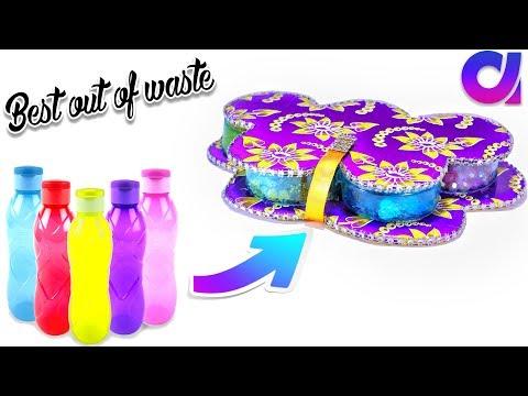 Best use of waste plastic bottle ideas | DIY Project ideas | Artkala 223