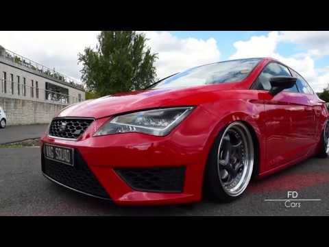 stance seat leon 3 fr air ride youtube. Black Bedroom Furniture Sets. Home Design Ideas