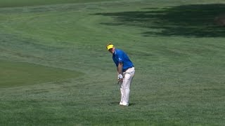 Billy Hurley III's masterful chip-in for birdie at The Barclays