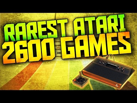 Top 10 Rarest Atari 2600 Games | Most Valuable Atari Games