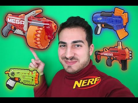 NUOVI NERF INIZIO 2019|| FossilNerf Channel [COMMENTARY]