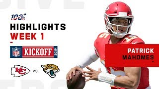 Patrick Mahomes' 3-TD Day | NFL 2019 Highlights