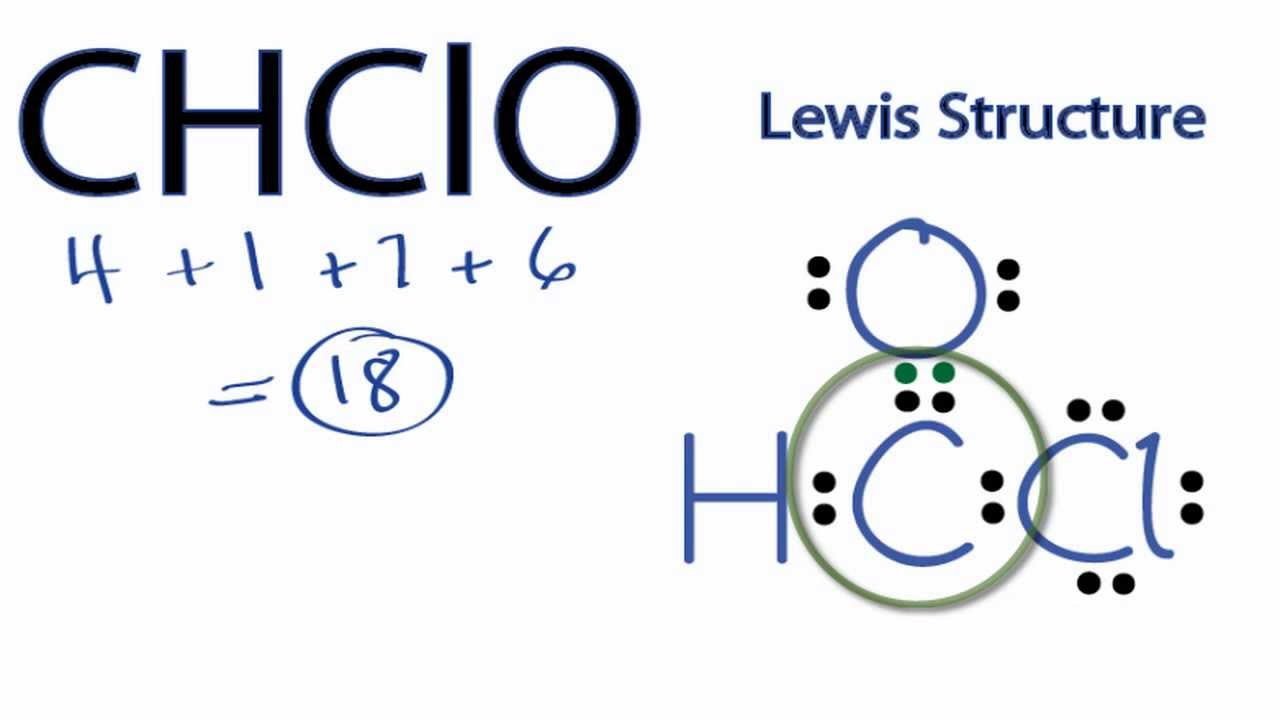 Chclo lewis structure how to draw the lewis structure for chclo chclo lewis structure how to draw the lewis structure for chclo youtube pooptronica Choice Image