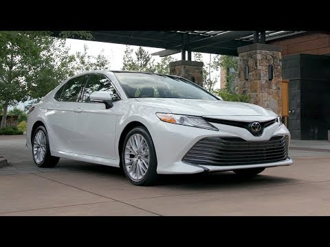 2018 Toyota Camry XLE (US Spec)