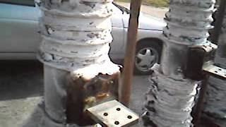 обгоревшие изоляторы(, 2015-06-18T07:29:25.000Z)